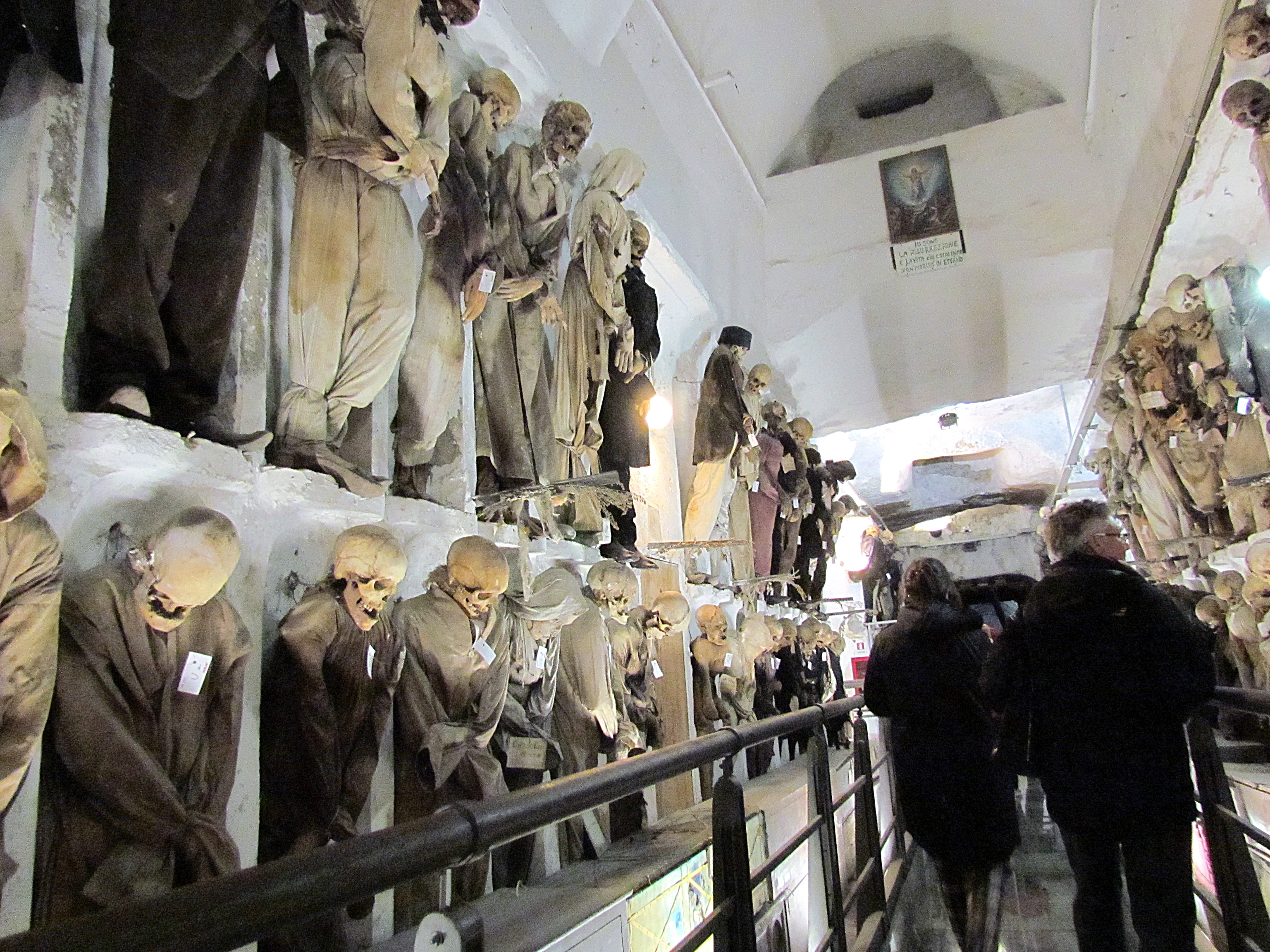 Le catacombe dei frati cappuccini a Palermo / Wikipedia / Pixabay