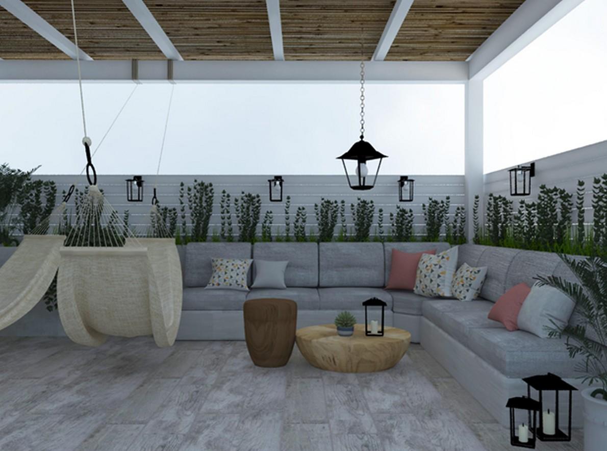 Come trasformare la tua terrazza in un angolo di relax - Divano in muratura ...