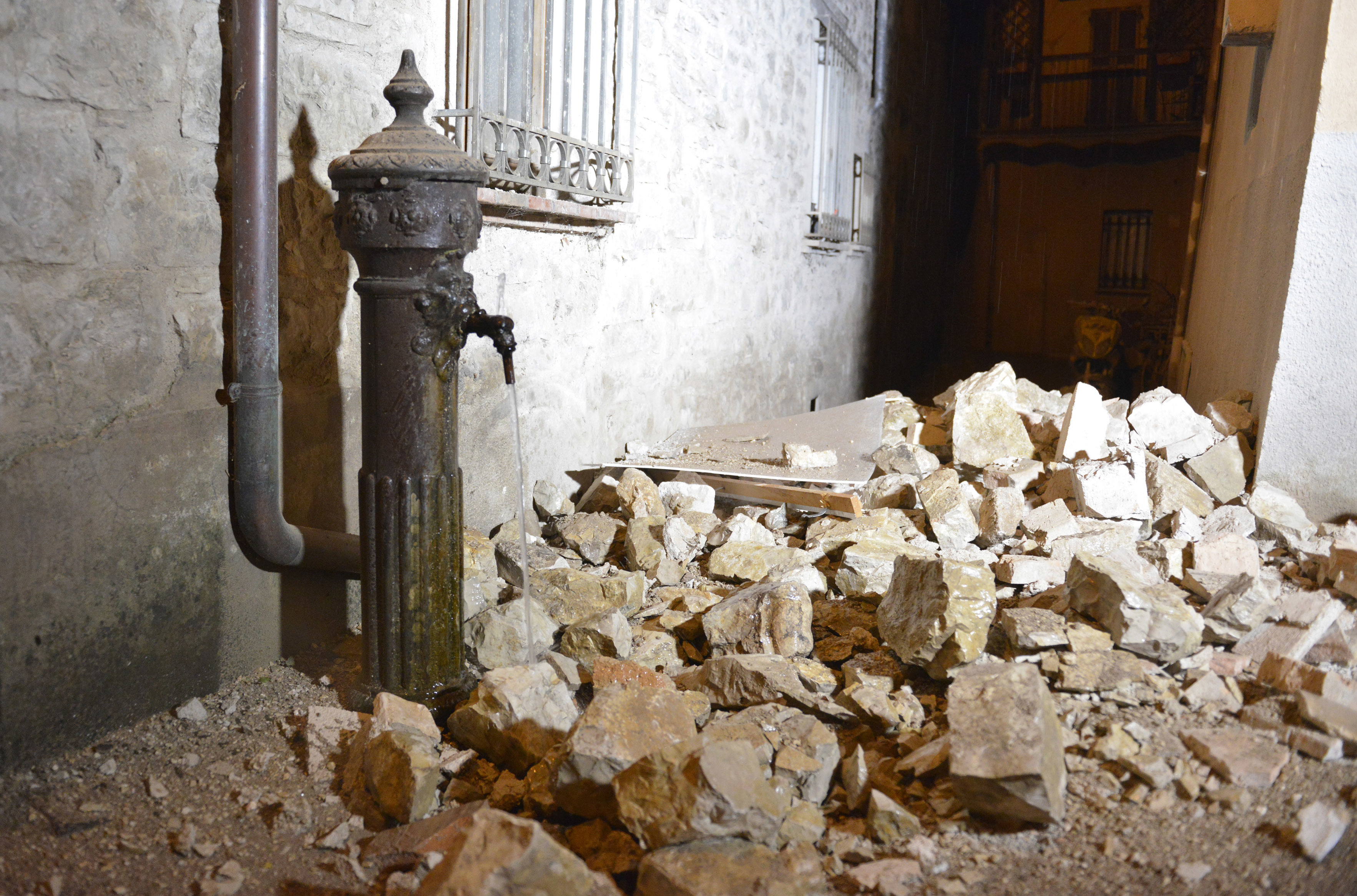 2005-2016: undici anni di terremoti in Italia /La mappa