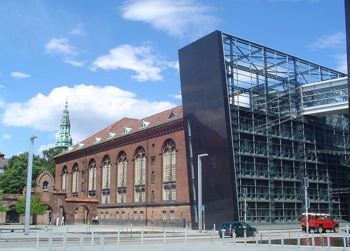 L'insolito diamante della Biblioteca Reale di Copenaghen