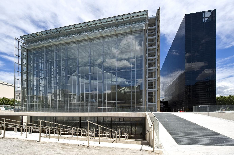Inaugurata la nuvola di fuksas il nuovo centro congressi for La nuvola di fuksas roma