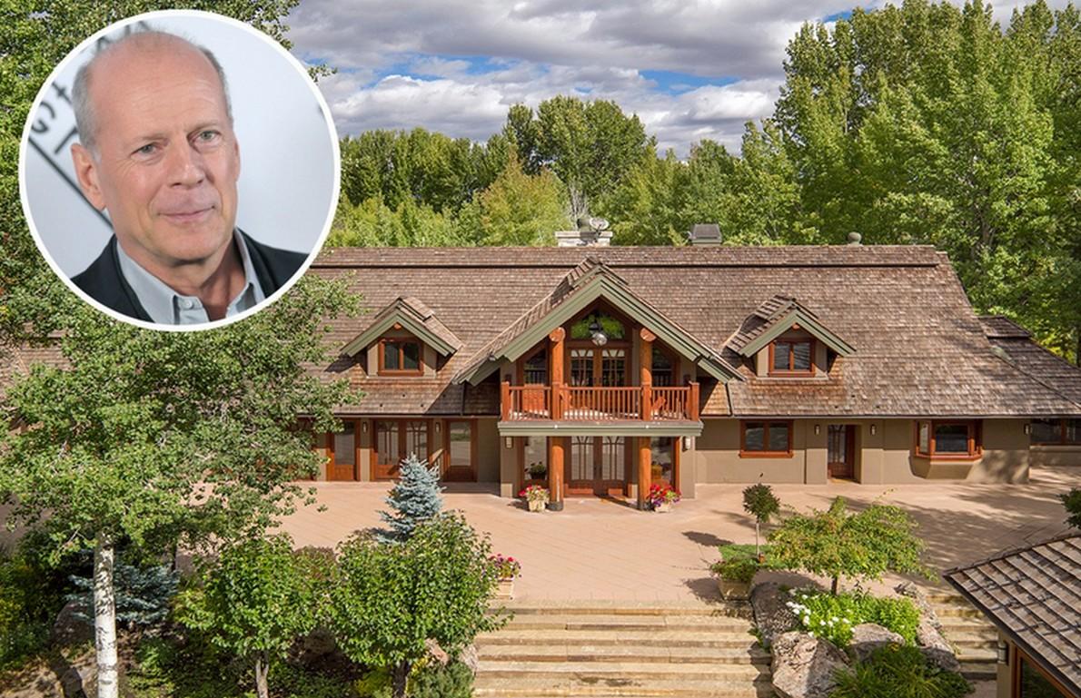 Bruce willis abbassa il prezzo del suo ranch in idaho da for Interni case vip