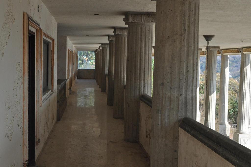 L'immobile è stato poi donato all'Università di Guerrero