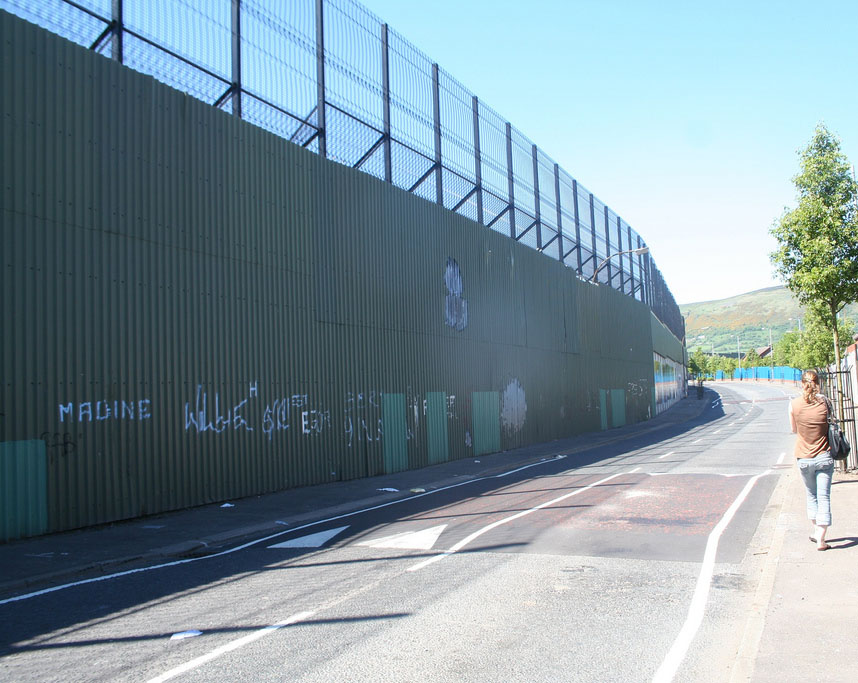 Muro di Belfast (Irlanda)