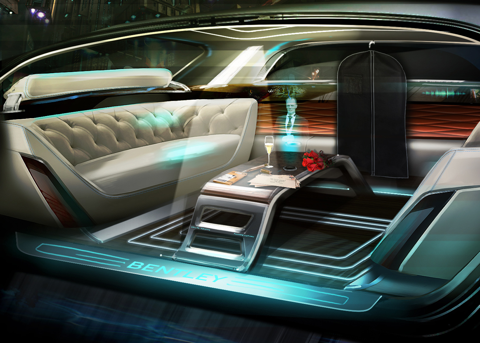 Le auto del futuro diventano sempre più simili al salotto di casa