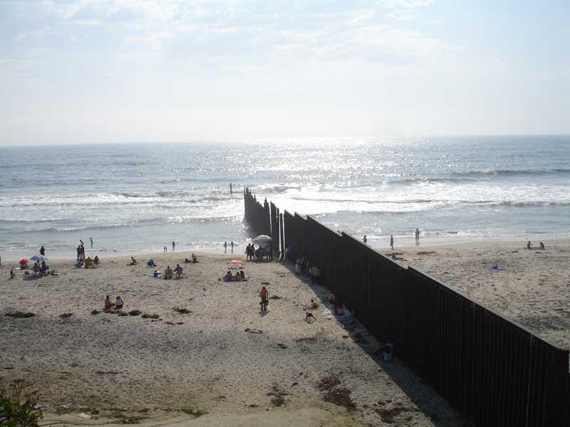 Muro di separazione tra Stati Uniti e Messico