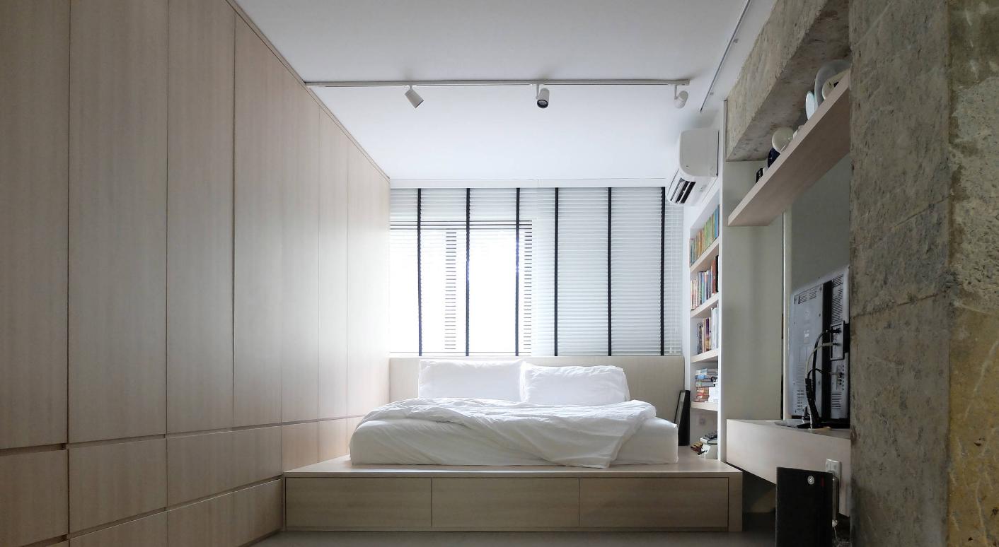 Sponda Letto Incassato : Come organizzare una camera da letto piccola sei idee salvaspazio
