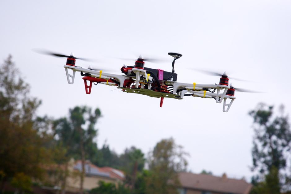 4 – Droni per monitorare gli edifici