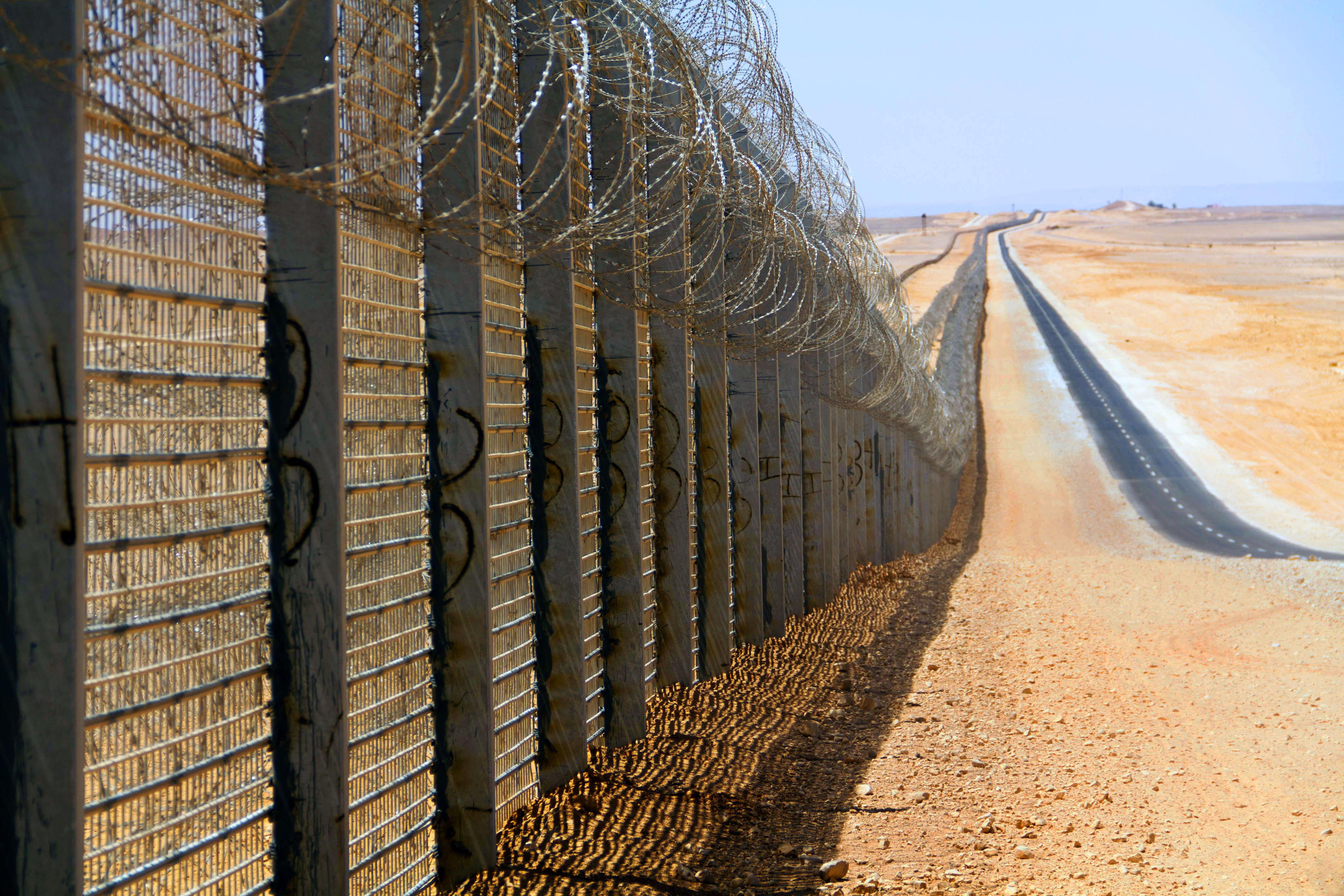 Frontiera tra Israele ed Egitto