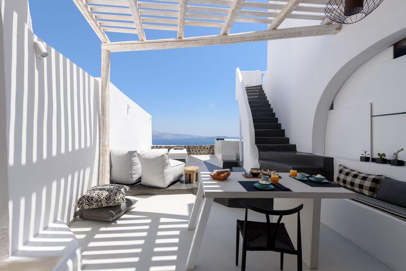 Quando la camera una grotta con un 39 incredibile vista - Hotel con piscina privata grecia ...