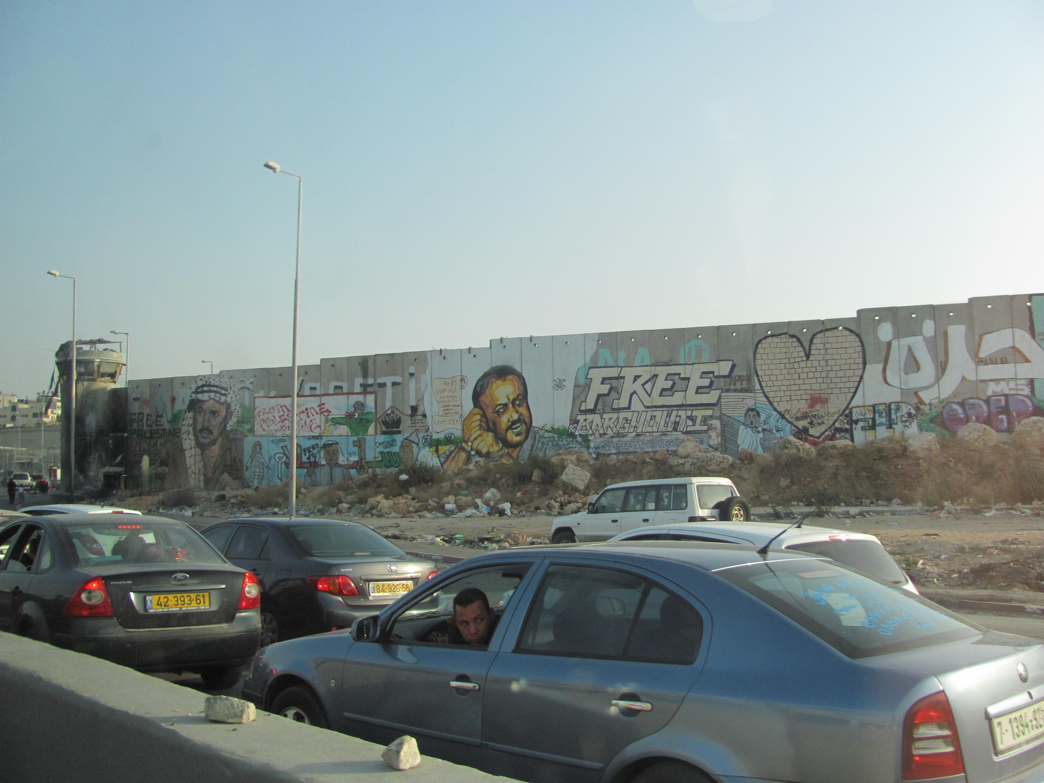Muro di separazione Israele-Palestina