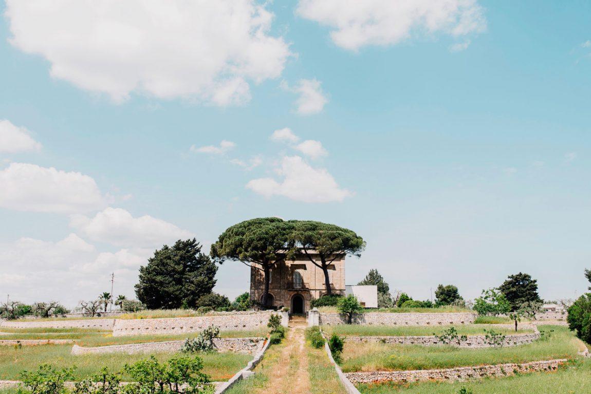 Cinque ettari di ulivi secolari circondano la masseria