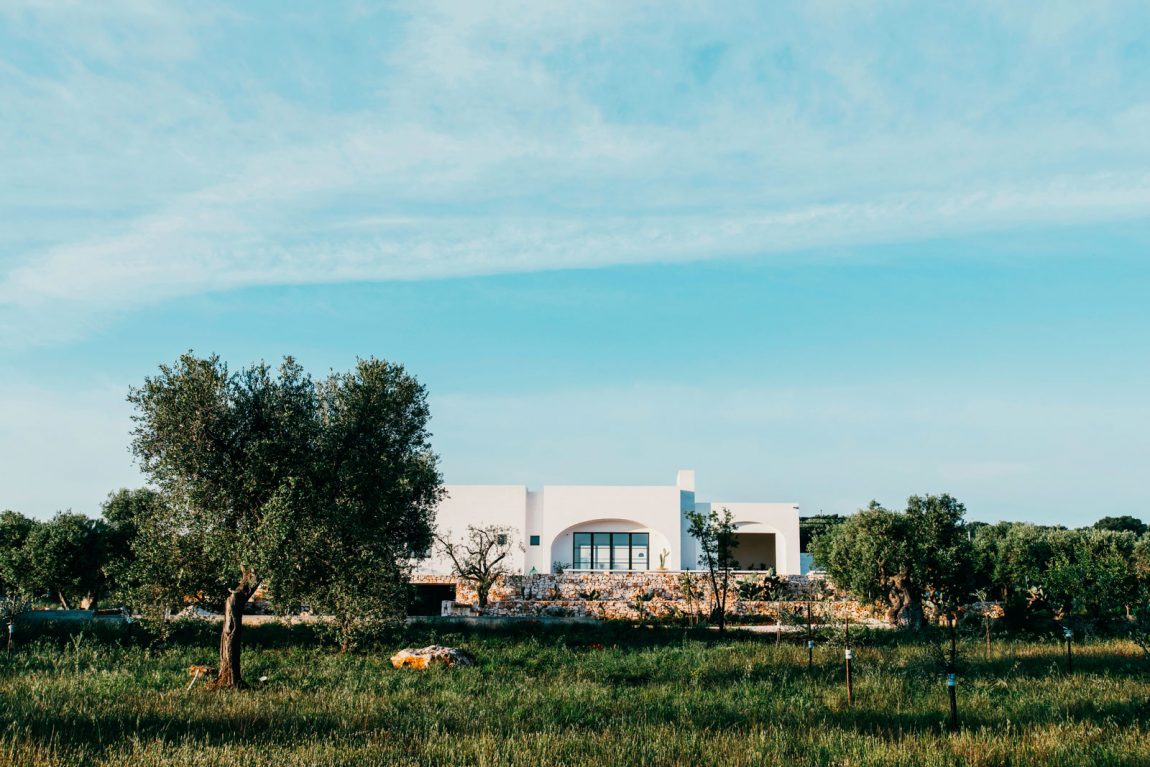 Masseria Moroseta nelle campagne di Ostuni, Puglia