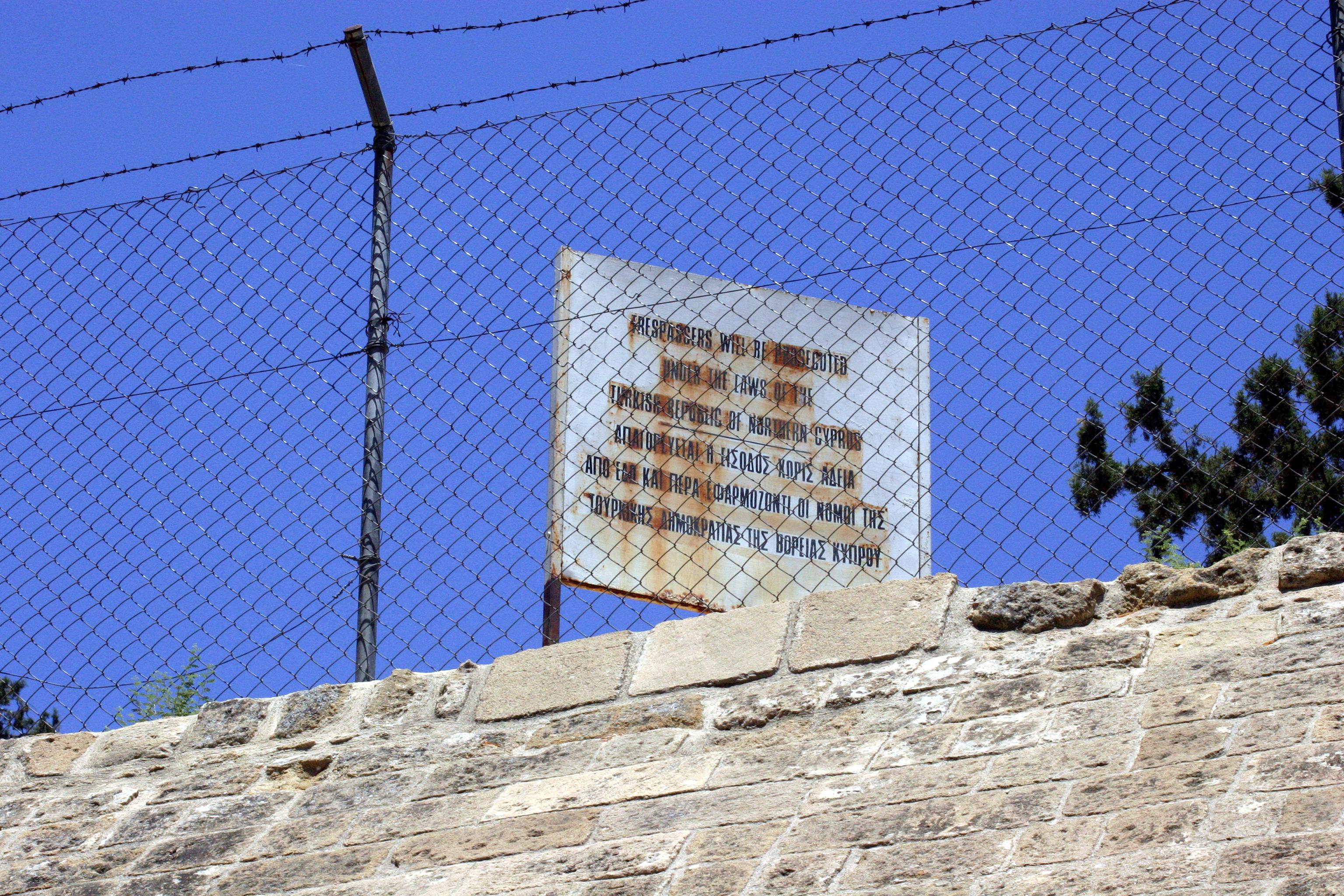 La linea verde di Nicosia (Cipro)