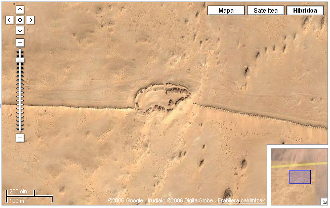 Muro del Sahara Occidentale