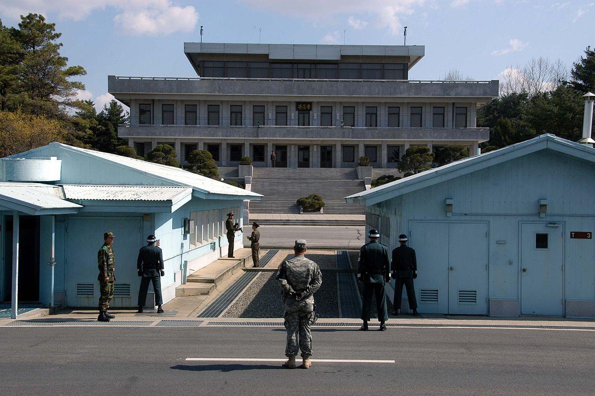 Parallelo 38, separazione tra le due Coree