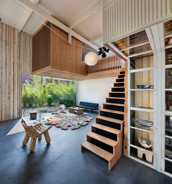 La casa pensata dall'architetto olandese Rolf Bruggink
