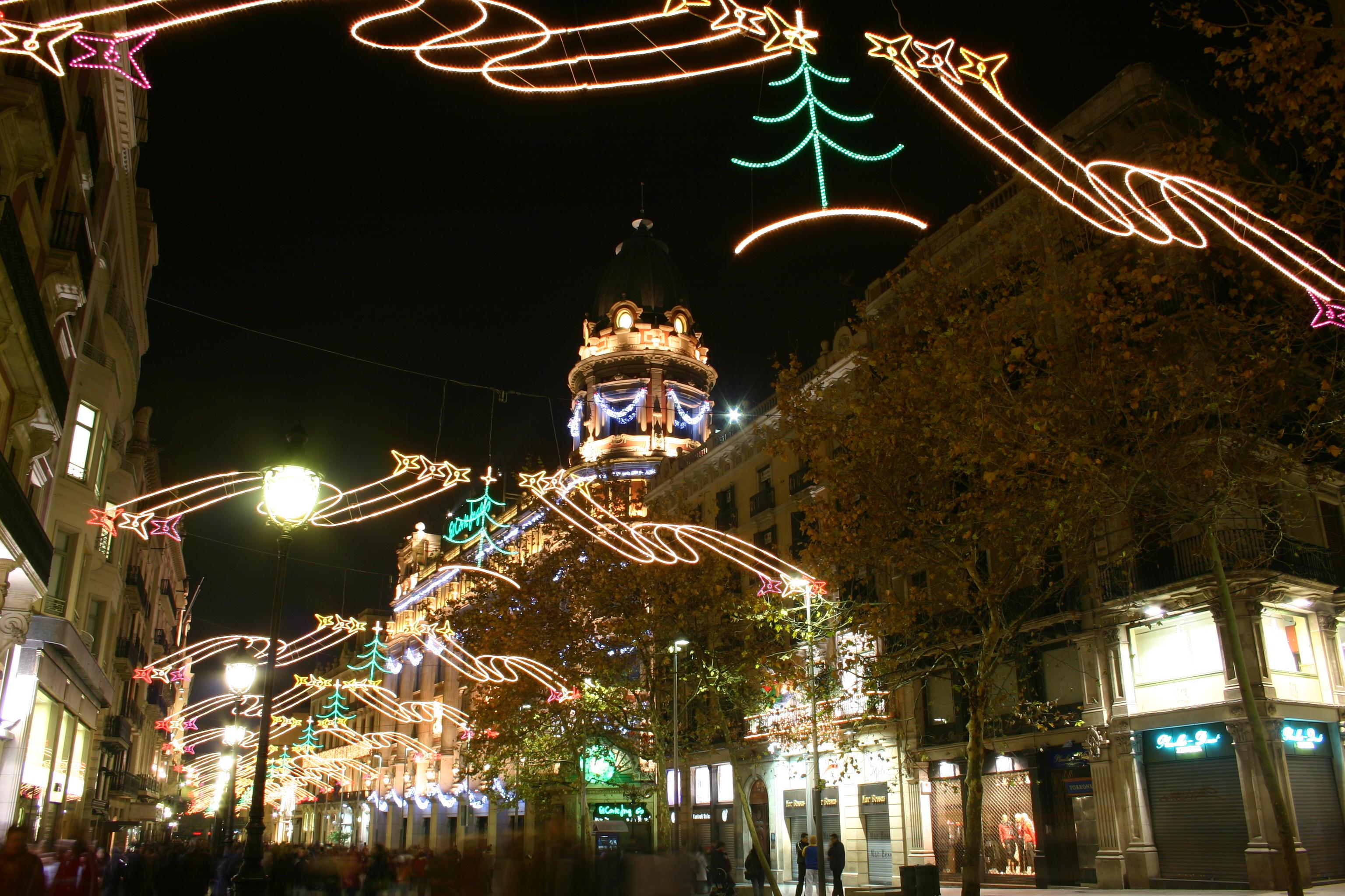 Barcellona con atmosfera natalizia / Wikipedia / Wikimedia commons