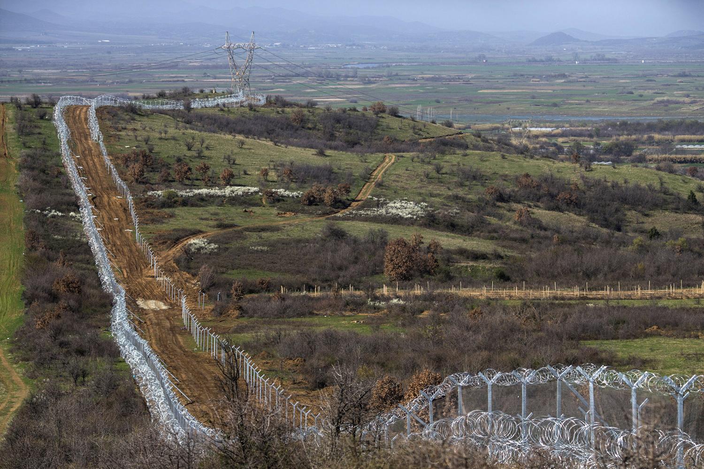 Recinzione tra Grecia e Macedonia