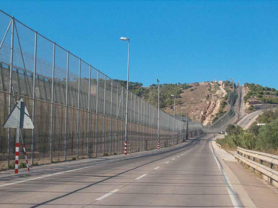 Recinzioni di Ceuta e Melilla (Spagna)