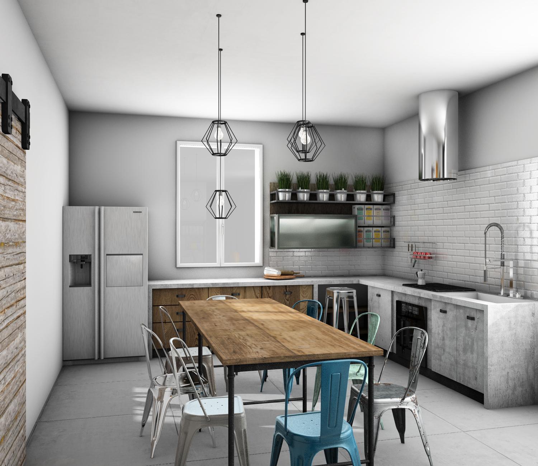 Differenza Tra En Suite E Bathroom: Qualche Idea Per Un Appartamento In Stile Industriale E
