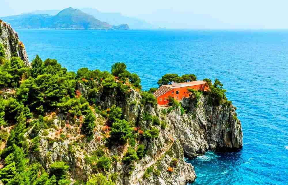 Casa Malaparte, Capri, Italia (Adalberto Libera)