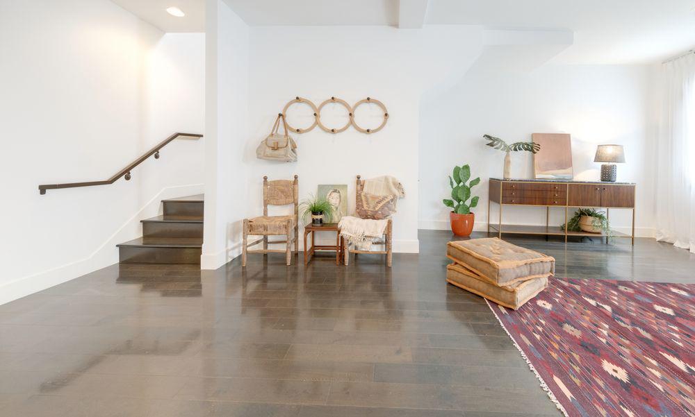 L'appartamento misura 175 m2