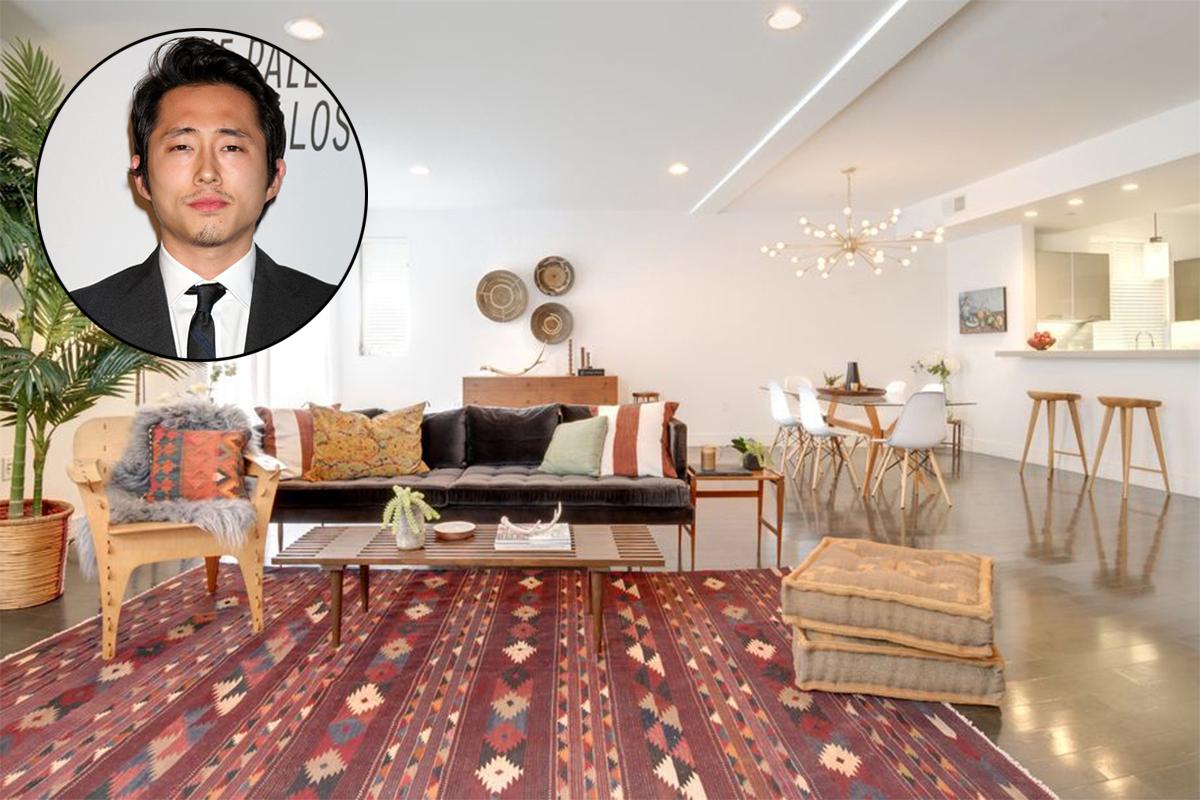 "La casa di Steven Yeun, il ""Glenn"" di Walking Dead"