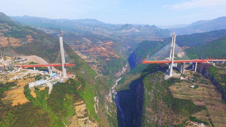 In cina stato inaugurato il ponte pi alto del mondo for Piani di progettazione di ponti gratuiti