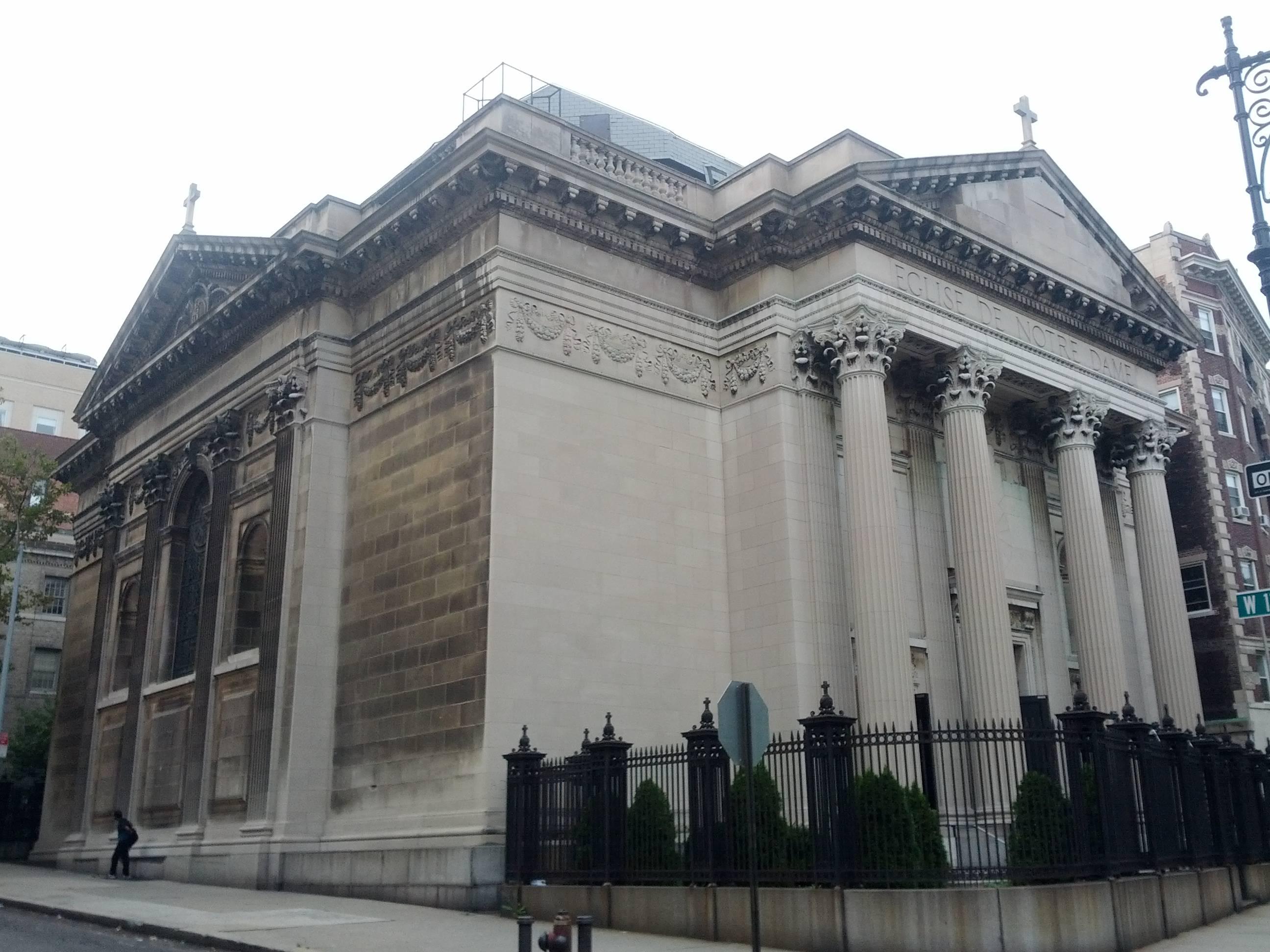 Chiesa di Notre Dame a New York (EEUU)