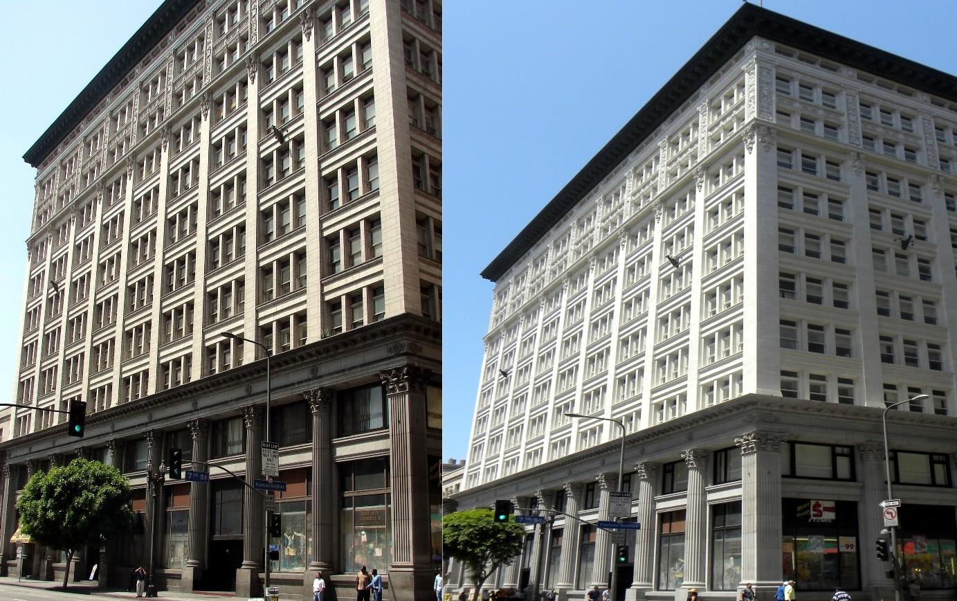 Edificio storico nel centro di Los Angeles (EEUU)