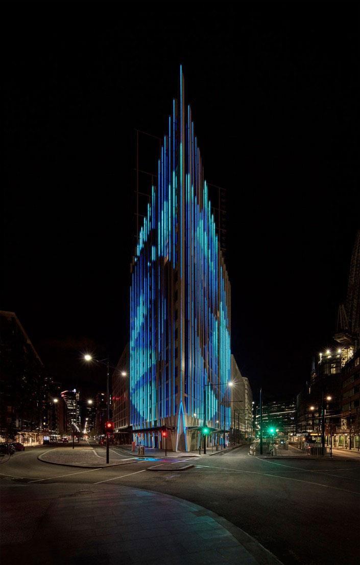 L'edificio che parla del tempo