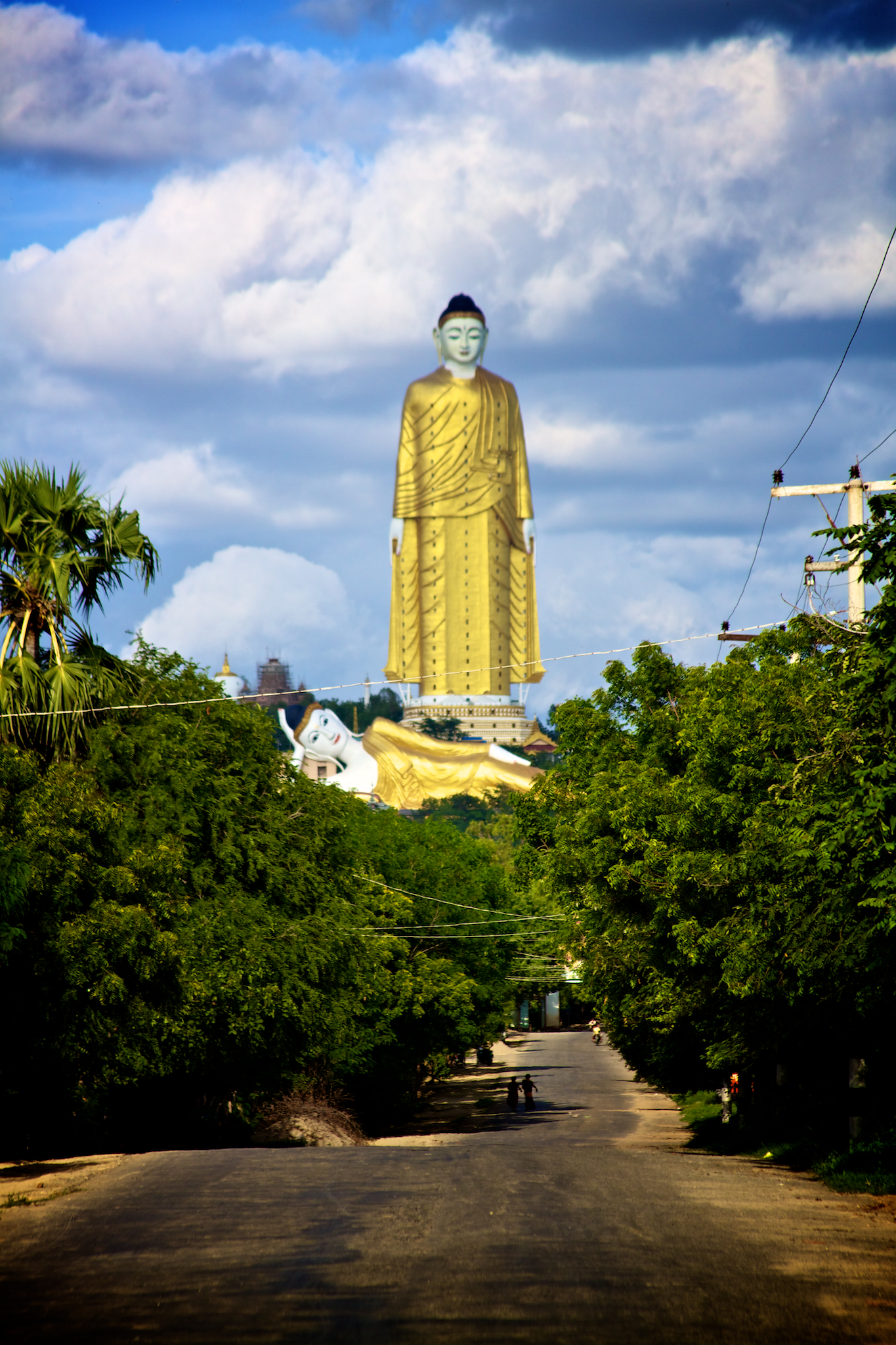 Laykyun Sekkya (116 metri), Monywa (Myanmar)