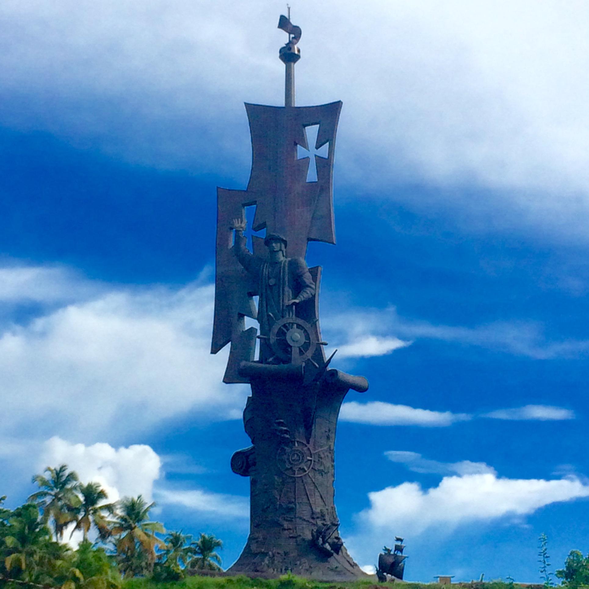 Nascita del Nuovo Mondo (110 metri), Aceribo (Puerto Rico)