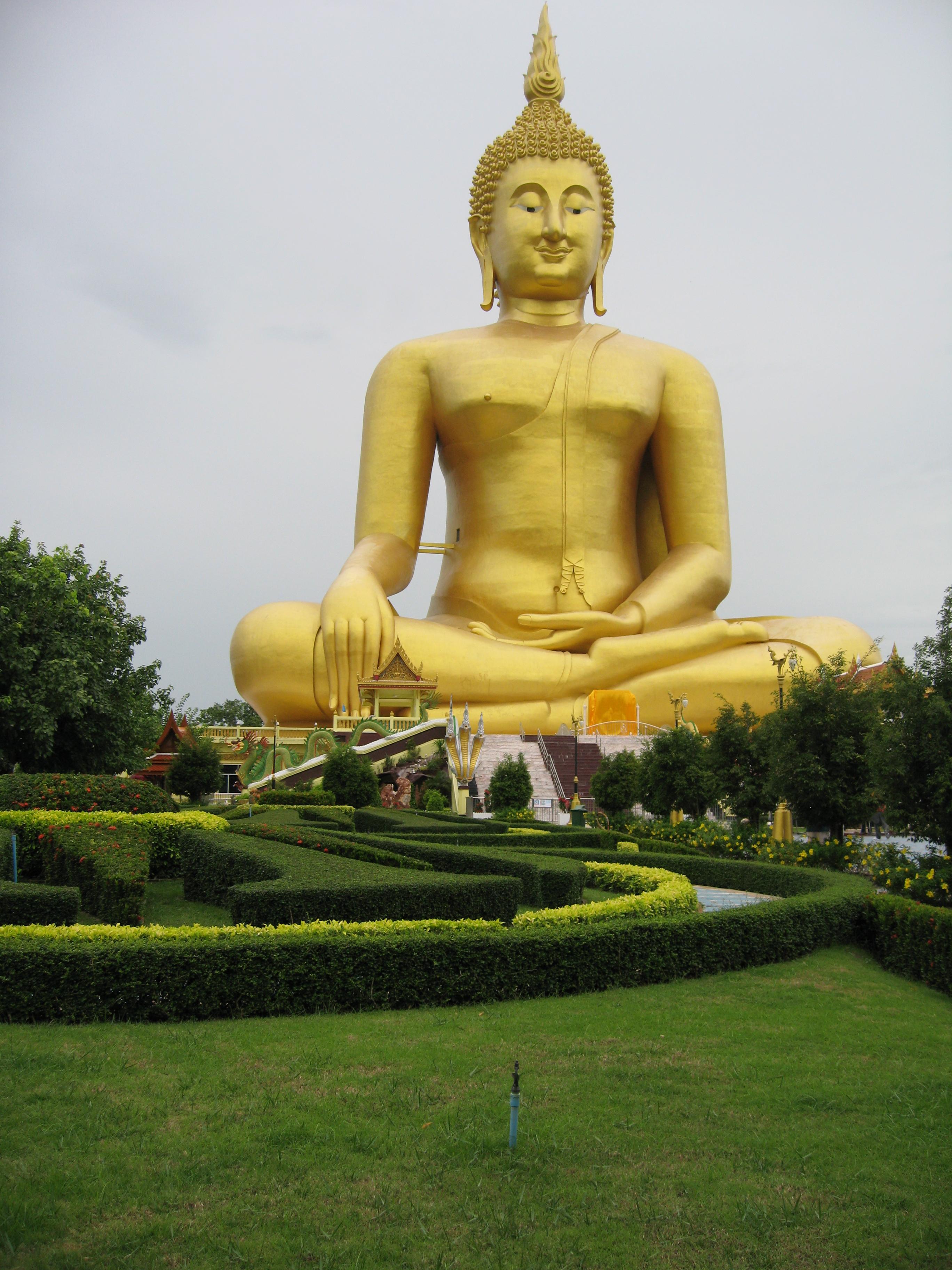 Gran Buddha (92 metri), Ang Thong (Thailandia)
