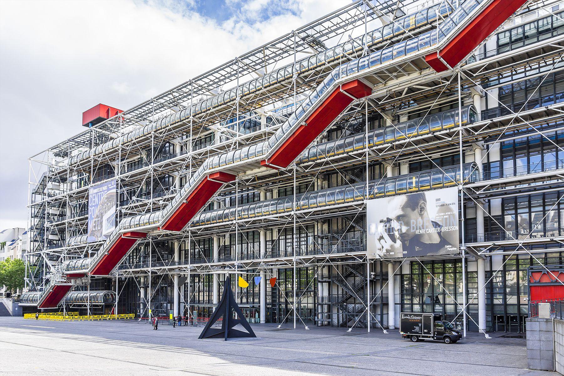 Centro Pompidou (Parigi, Francia)