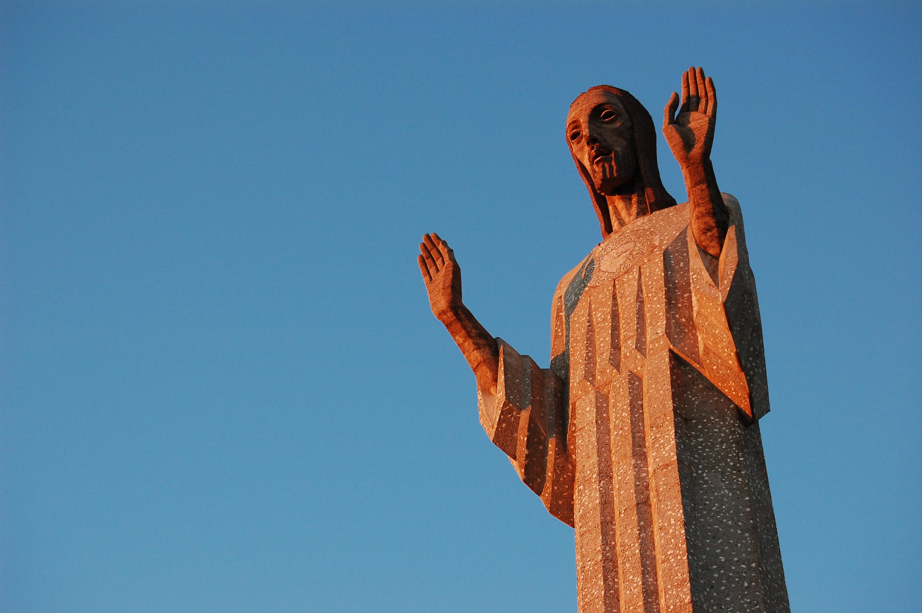 Il Cristo di Otero (30 metri), Palencia