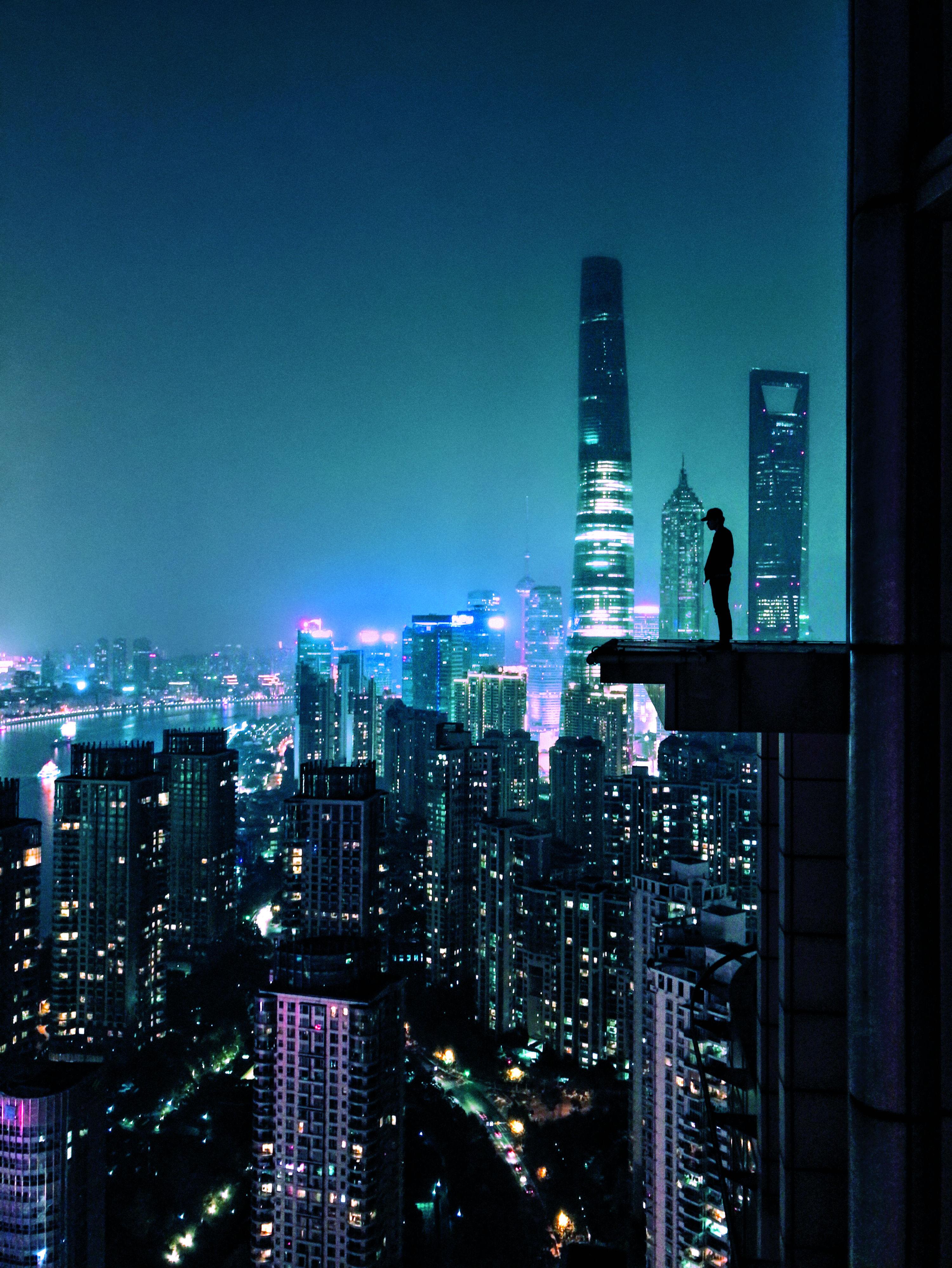 Skyline di Shangai (Cina)
