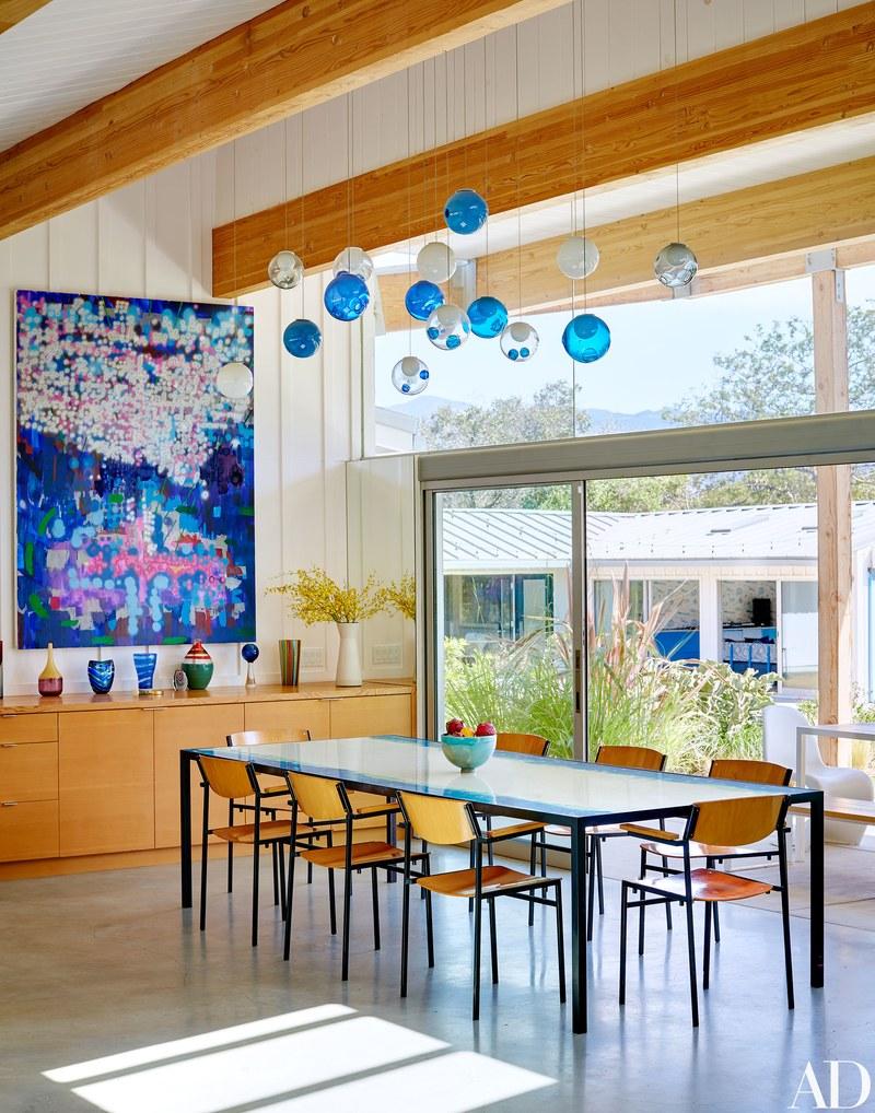 ...sulla spiaggia di Malibù / Arquitectural Digest/Trevor Tondro