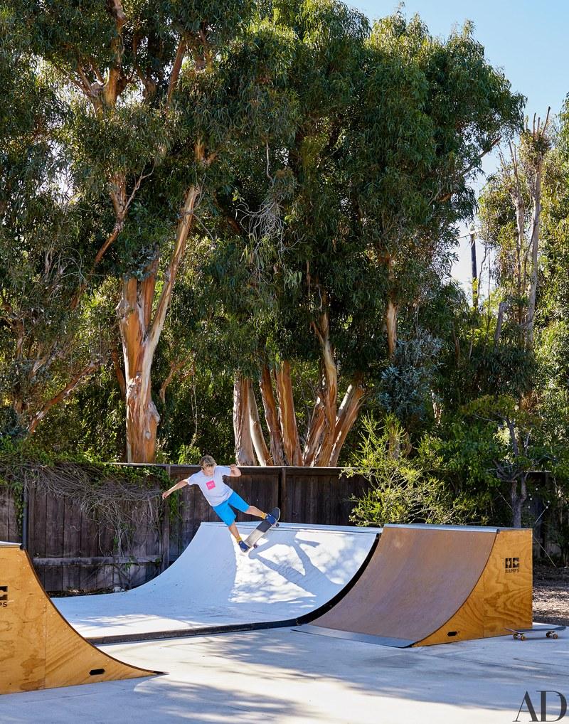 Un'area per lo skate / Arquitectural Digest/Trevor Tondro