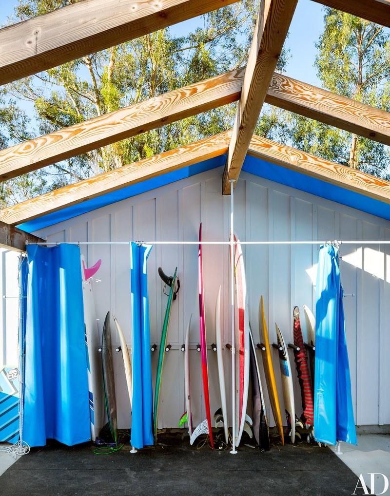 Tavole da surf / Arquitectural Digest/Trevor Tondro