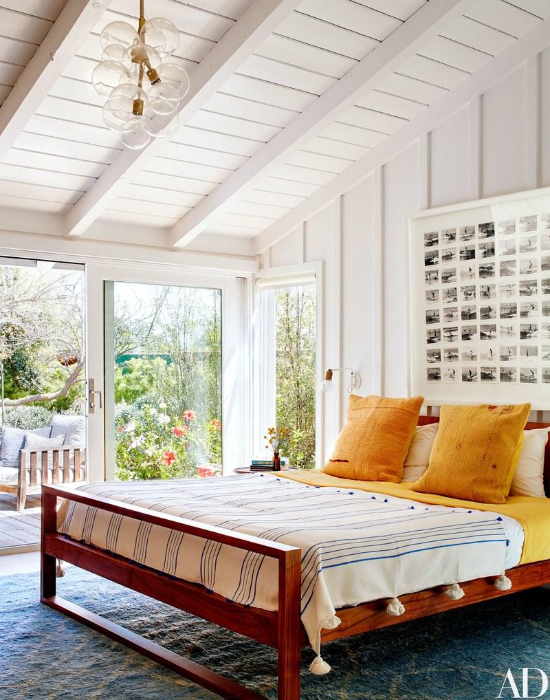 Una camera da letto / Arquitectural Digest/Trevor Tondro