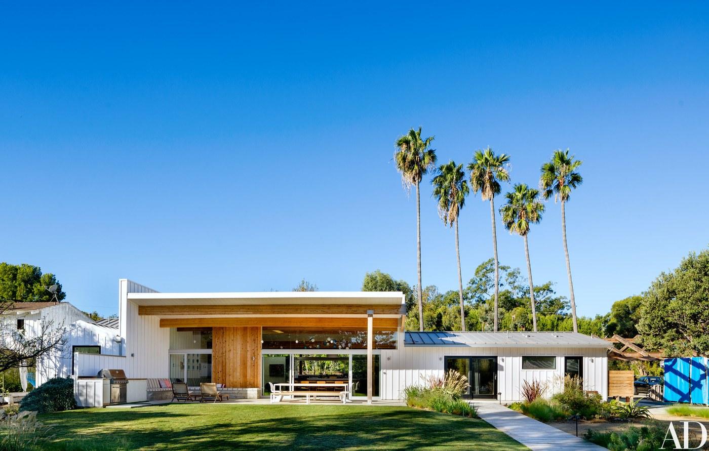 La casa del cantante Mike D, del gruppo dei Beastie Boys / Arquitectural Digest/Trevor Tondro