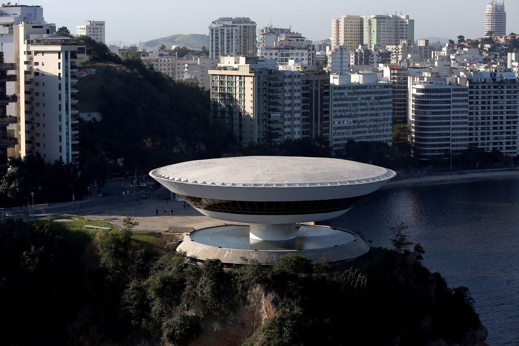 Museo da Arte Contemporanea di Niteroi (Rio de Janeiro, Brasile)