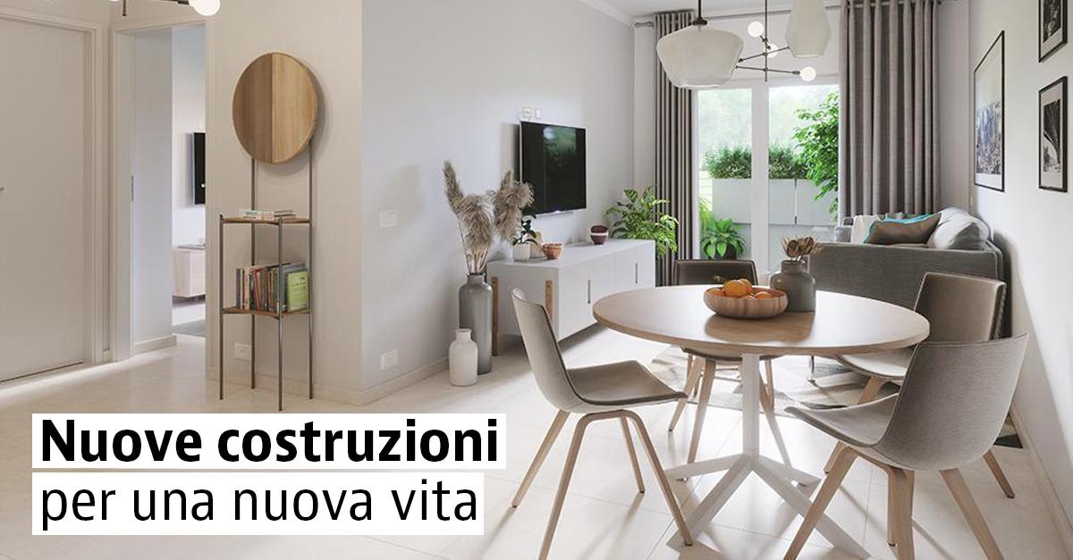 Case di nuova costruzione in tutta Italia