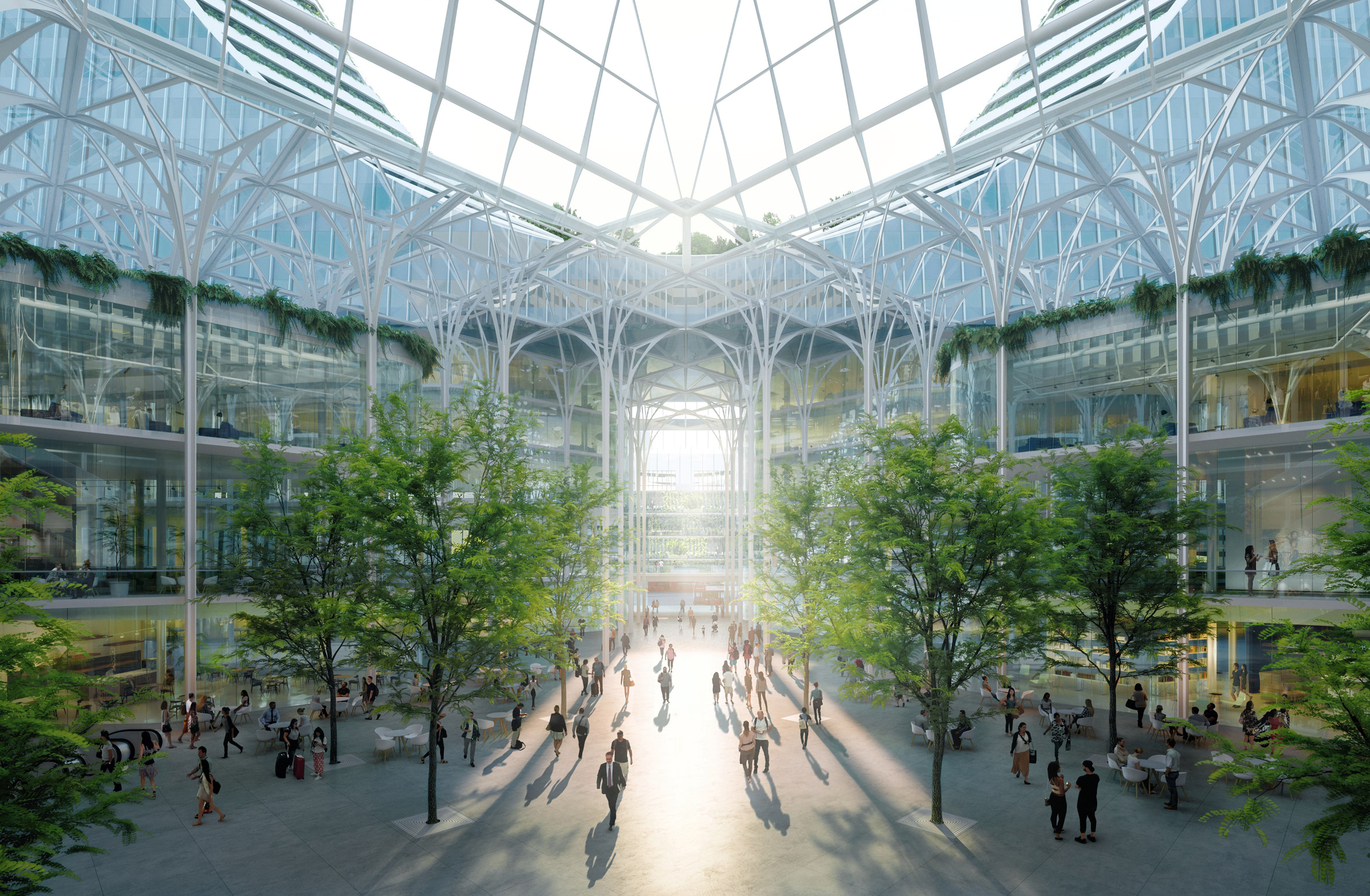 Sarà il primo progetto firmato da Santiago Calatrava per il Regno Unito / Uniform