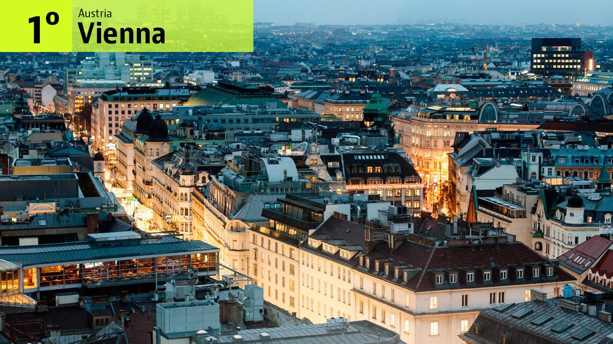 Vienna è la città con miglior qualità della vita / The Stocks
