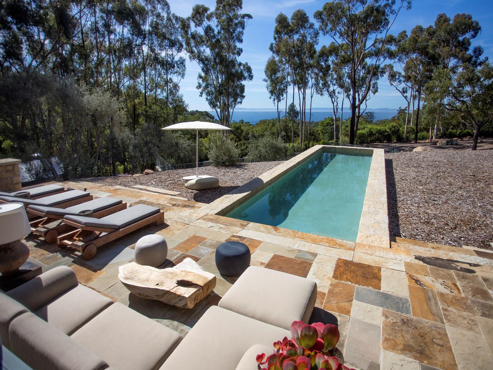 La proprietà si trova nella contea di Santa Barbara in California / Sotheby´s