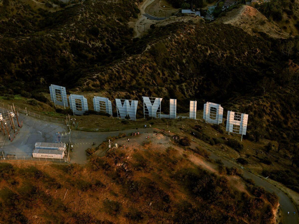 Scritta di Hollywood
