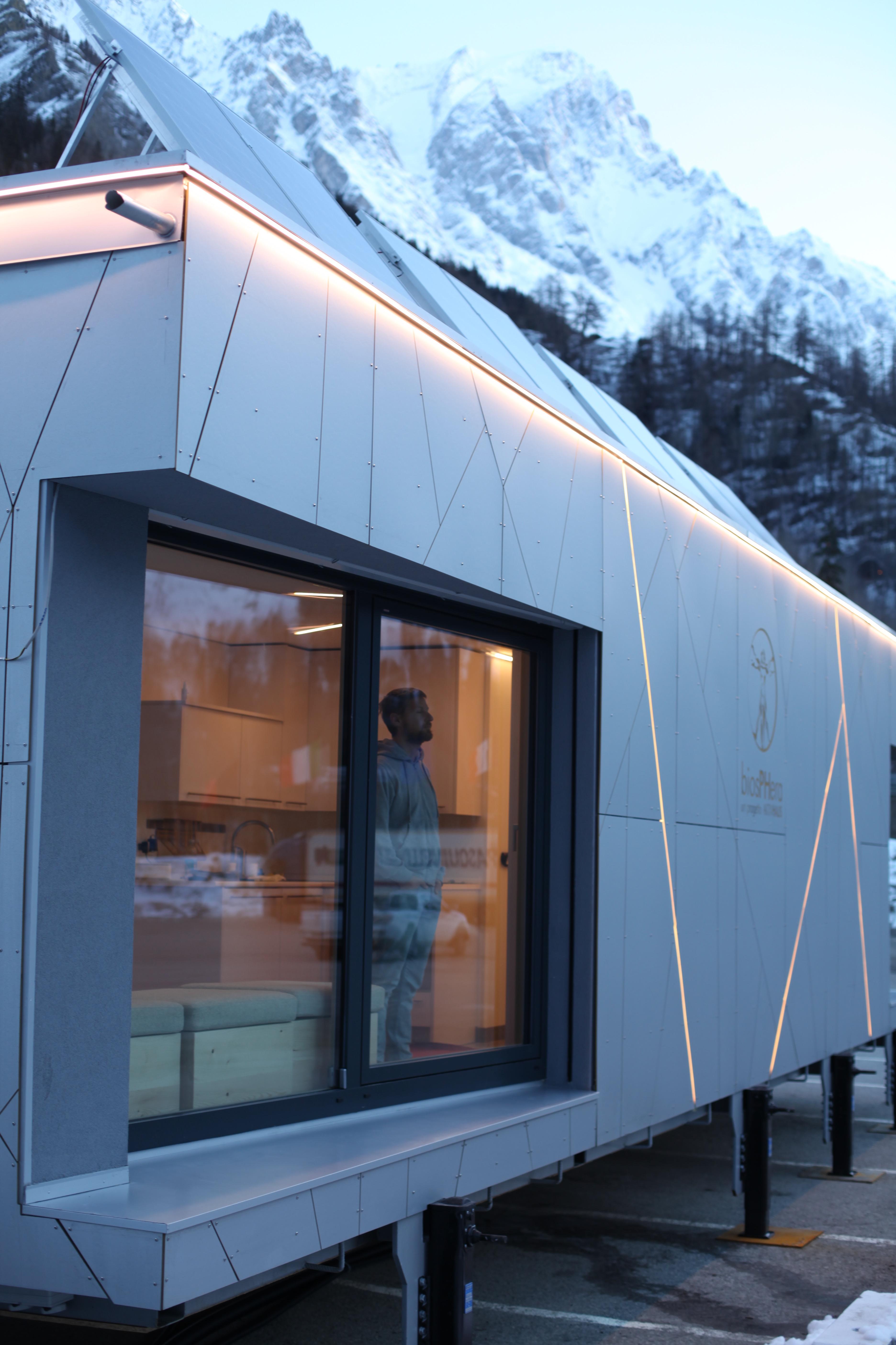 Il modulo abitativo futuristico Biosphera 2.0 / Biosphera 2.0